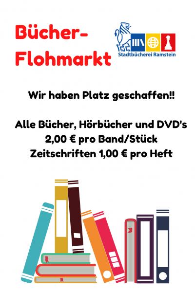 Plakat Flohmarkt 2021